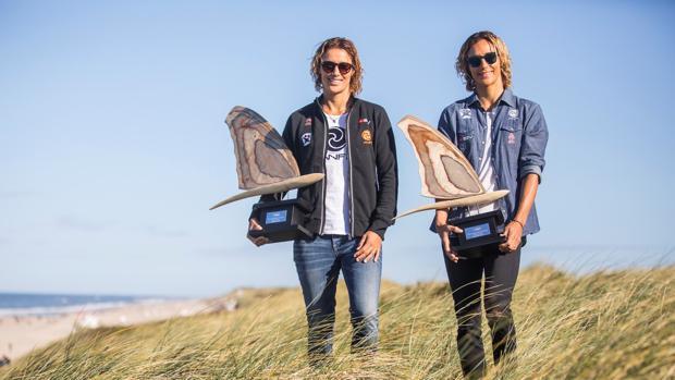Campeonas de windsurf de la PWA