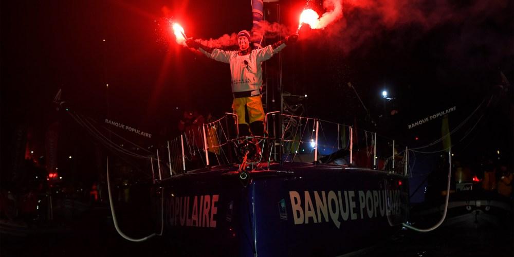 Armel Le Clèac'h nuevo Campeón Mundial IMOCA