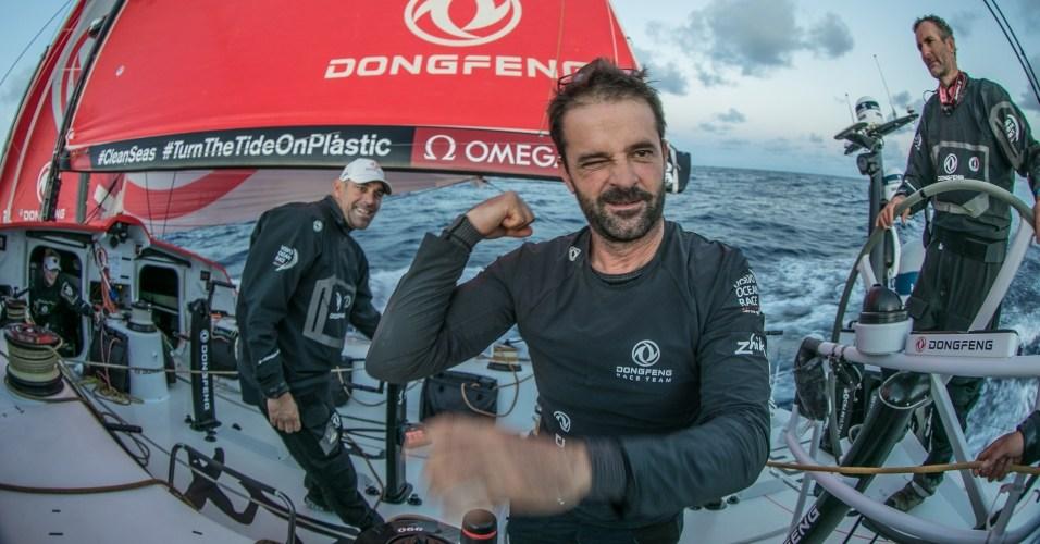 Volvo Ocean Race. Dongfeng lidera la flota