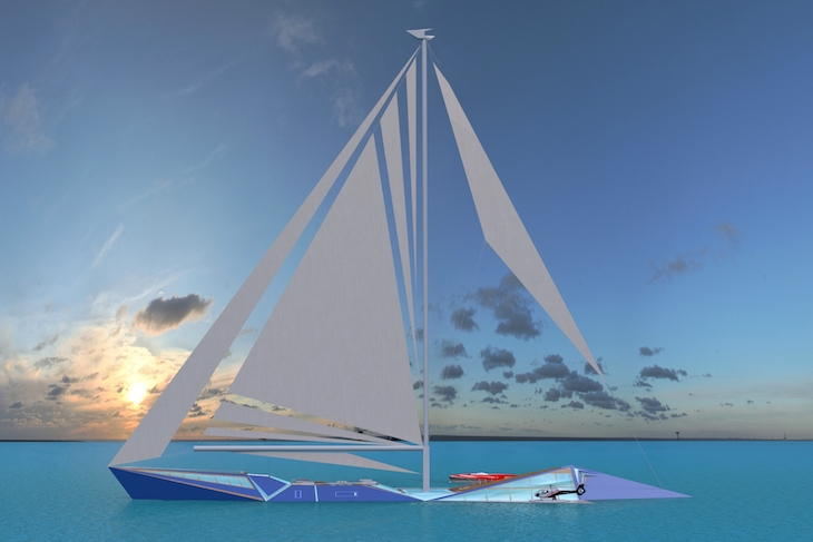 Sailing Yacht Origami