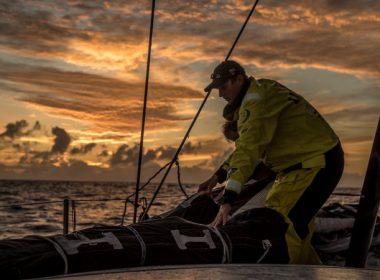 Los equipos de la Volvo Ocean Race se posicionan