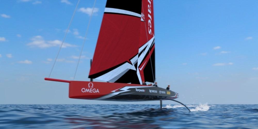 Nuevo barco de la America's Cup, monocasco AC75