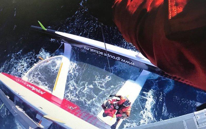 Video del rescate de Le Blevec en el Cabo de Hornos
