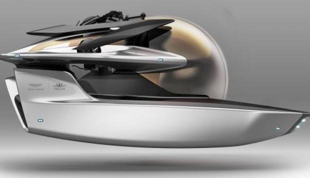 Aston Martin presento su submarino Neptuno