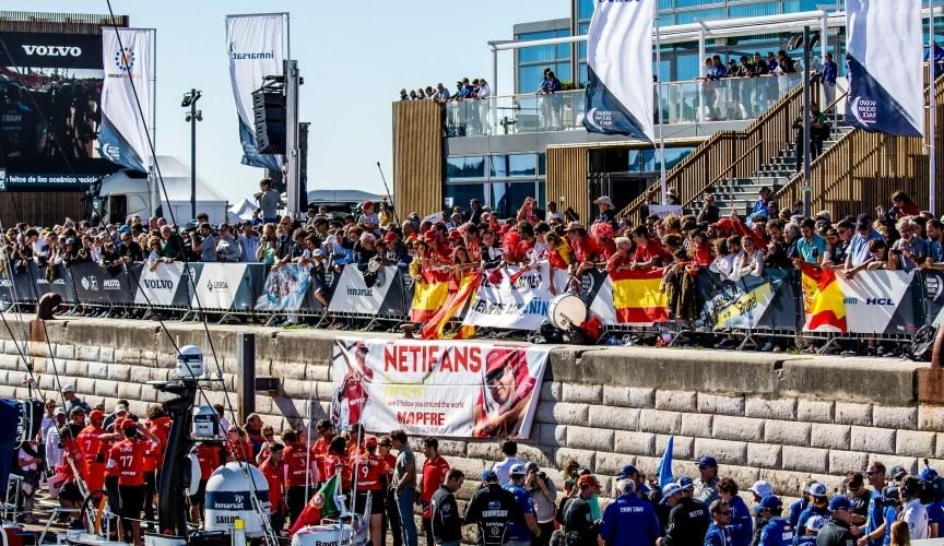 España gana protagonismo en la Volvo Ocean Race