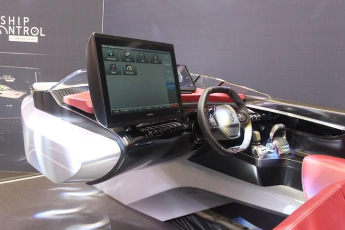 Sea Drive Concept, una cabina que mezcla automóviles y yates