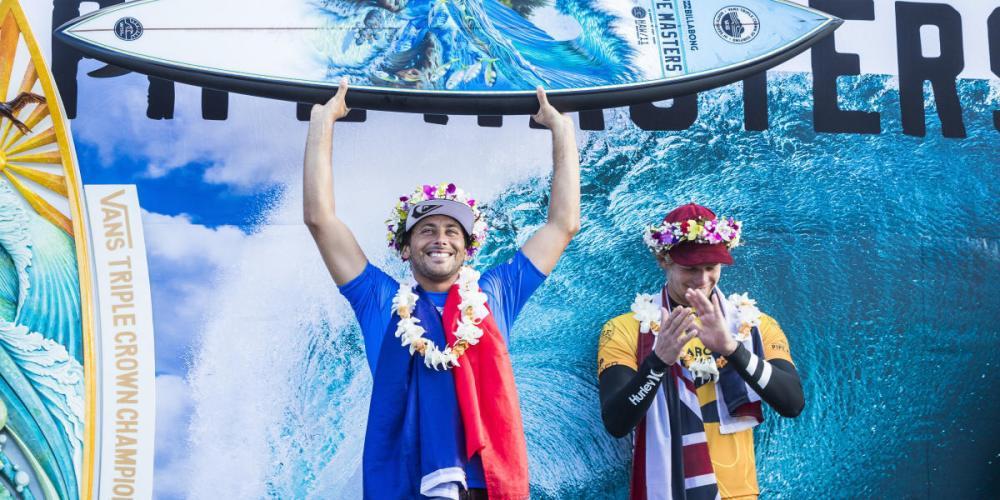 World Surf League . John John Florence conquista el bicampeonato mundial