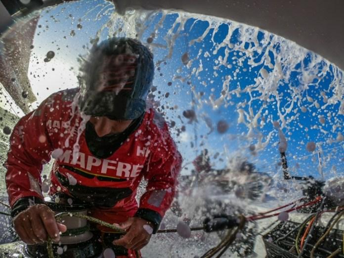 Volvo Volvo Ocean Race. El MAPFRE tom el liderato