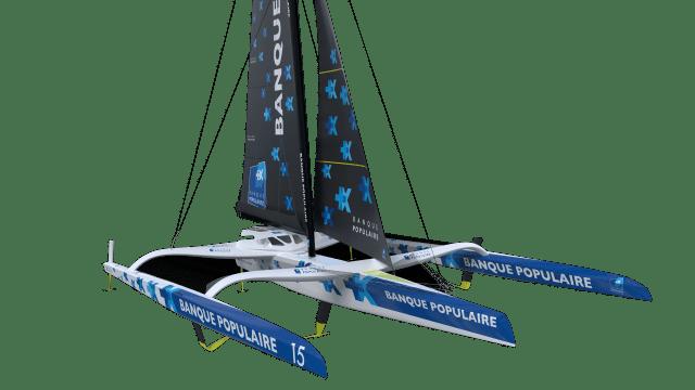 Visita en 3D del nuevo trimarán «Banque Populaire IX»