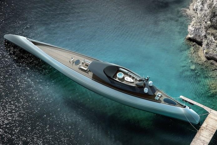 Tuhura, el superyate inspirado en las canoas polinesias