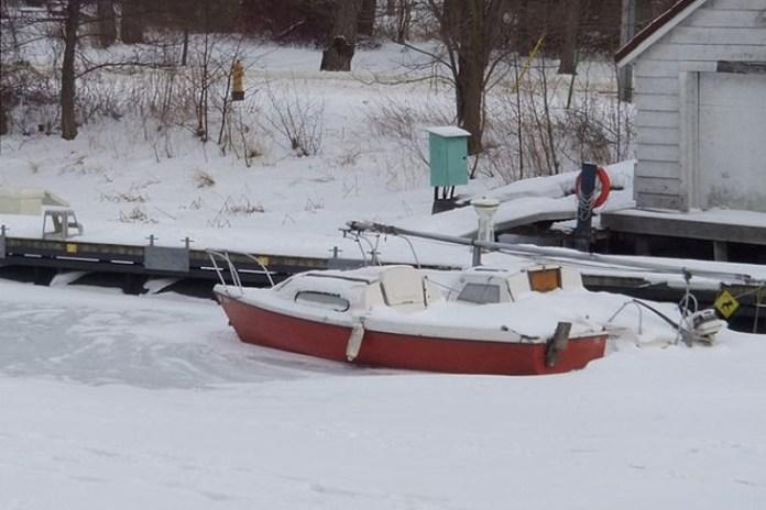 Calefacción híbrida, barco libre de heladas