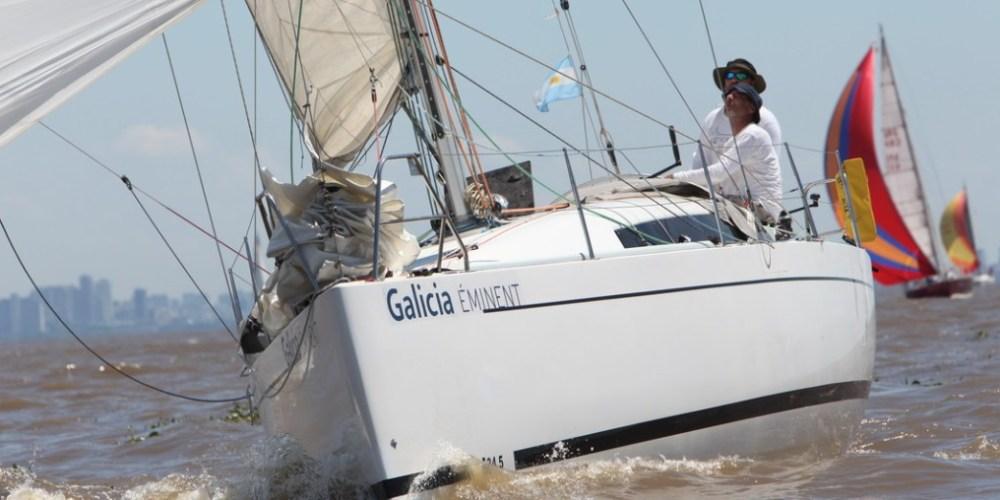Posicion satelital 61° Regata Oceánica Buenos Aires - Mar del Plata