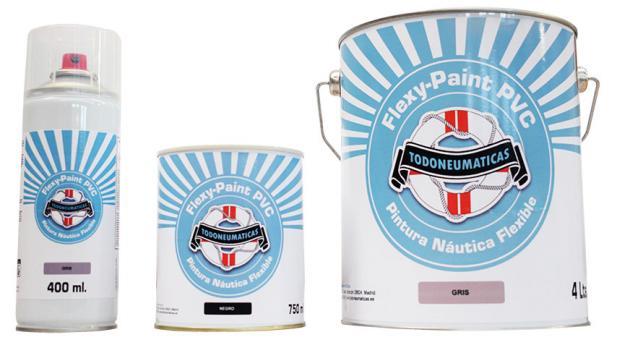 Flexy Paint, la pintura flexible PVC para neumáticas y semirrigidas