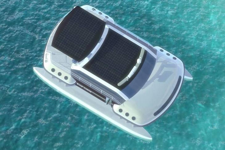 Quad 44, catamarán eléctrico
