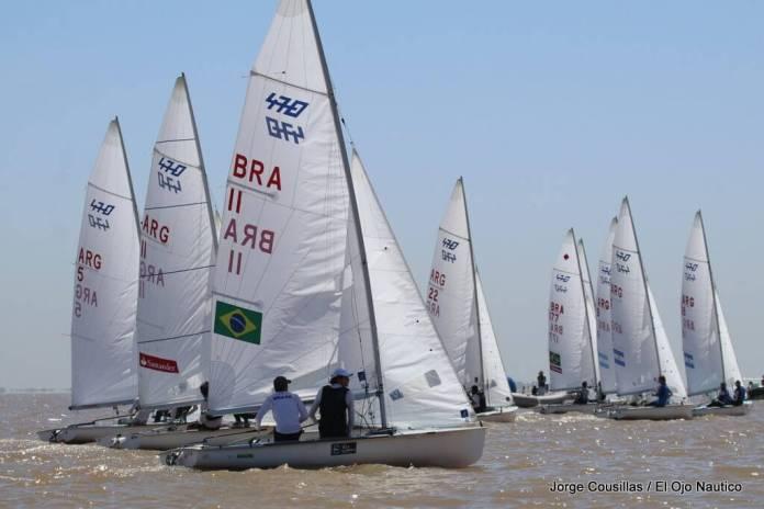 BRASIL, CAMPEÓN SUDAMERICANO DE 470 EN BUENOS AIRES