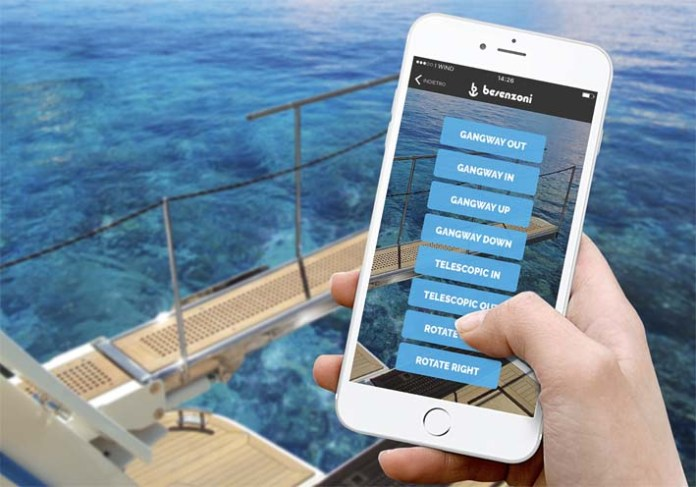 App de Besenzoni para el control de pasarelas