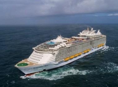 Symphony of the Seas, el crucero más grande del mundo