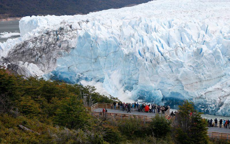 Rompimiento del Glaciar Perito Moreno en Vivo