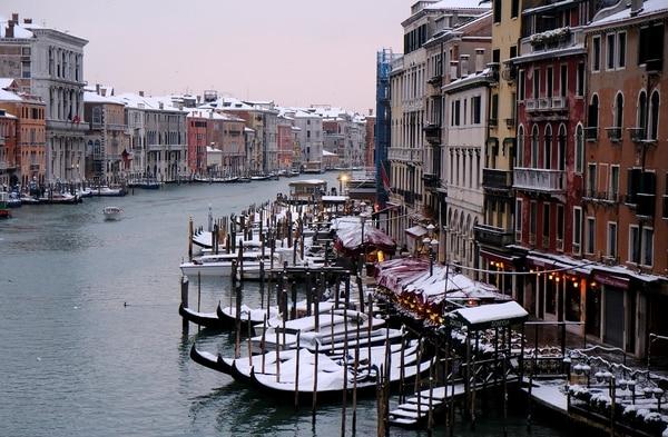 Hace más frío en Europa que en el Ártico