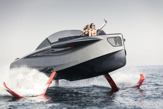 Enata Foiler Flying Yacht: La Nueva Forma de Navegar