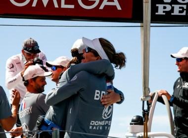 Volvo Ocean Race. In Port Race en Auckland para Dongfeng.