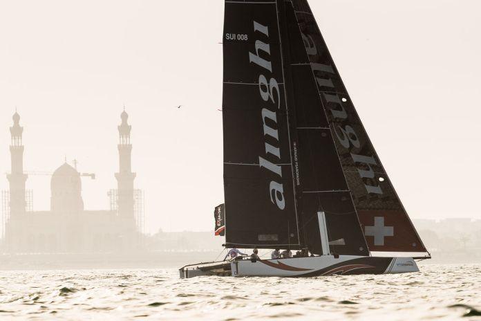 Extreme Sailing Series ™ 2018, Muscat. Alinghi domina