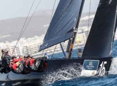 RC 44 . Charisma vencedor de la Calero Marinas Cup
