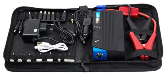 pequeño arrancador de baterías