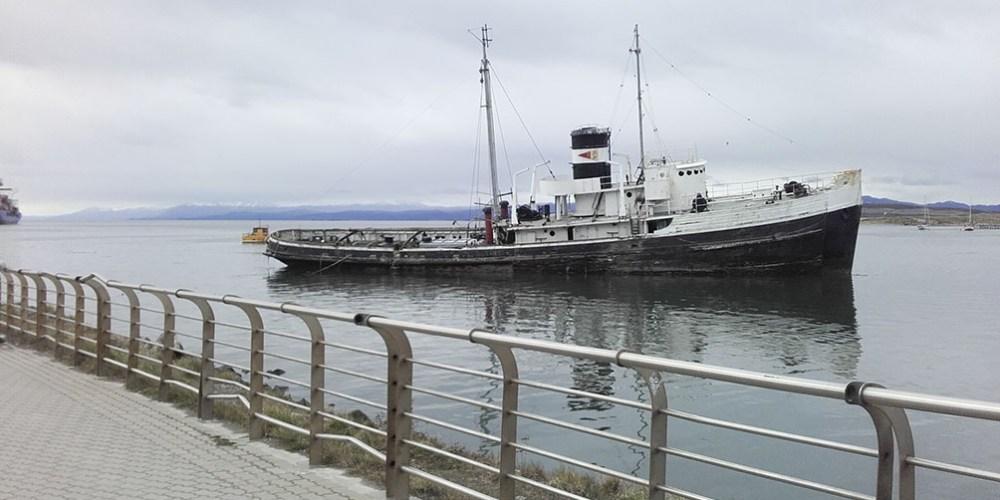 Saint Christopher, varado hace 64 años en el Canal de Beagle, será rescatado