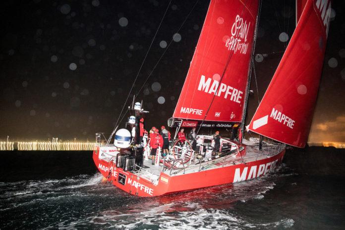 Volvo .ocean Race. MAPFRE llega a Brasil