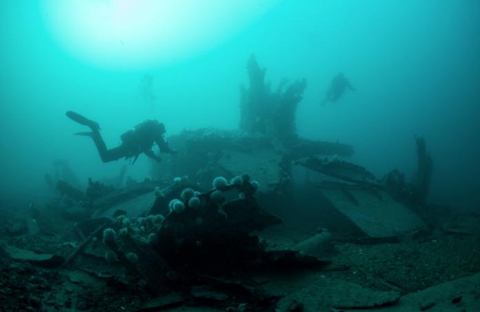 el cementerio de barcos de la Primera Guerra Mundial