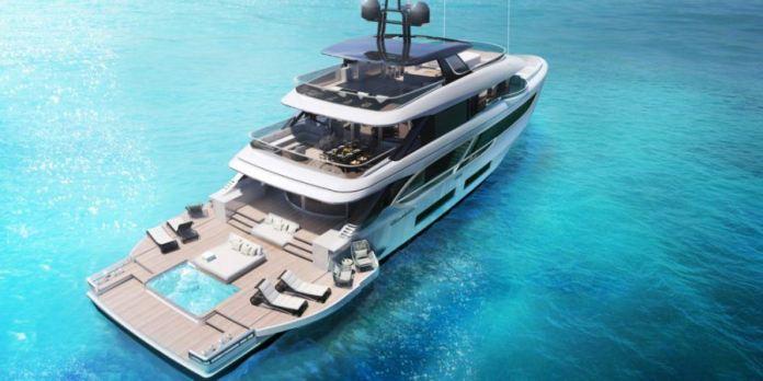 Oasis 135, un nuevo espectáculo de Benetti Yachts.