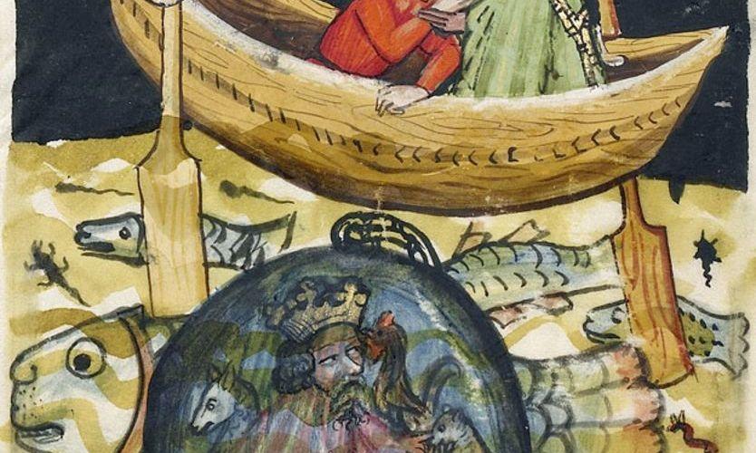 el primer submarino que describió Aristóteles hace 2.300 años