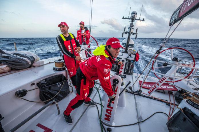 Volvo Ocean Race. El Mapfre a 500 millas de Newport