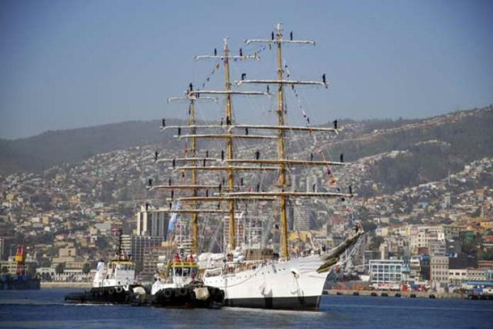 Arriban a Valparaíso los grandes veleros del mundo