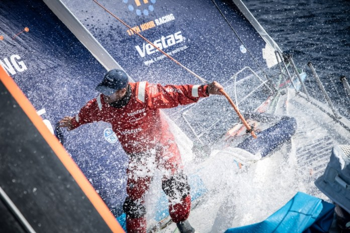 Volvo Ocean Race. La flota en el cruce del Atlántico