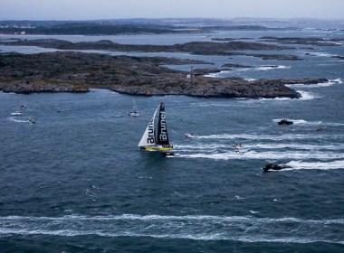 Volvo Ocean Race. Team Brunel gana la penultima etapa.