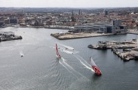 Volvo Ocean Race. Duelo entre Dongfeng y MAPFRE.