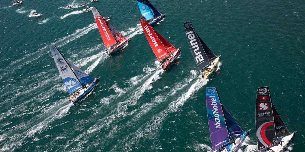 Volvo Ocean Race Las mejores fotos de 2017-18
