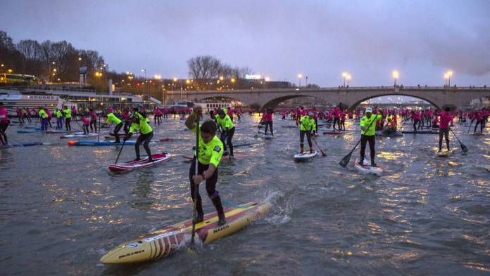 stand up paddle Paris