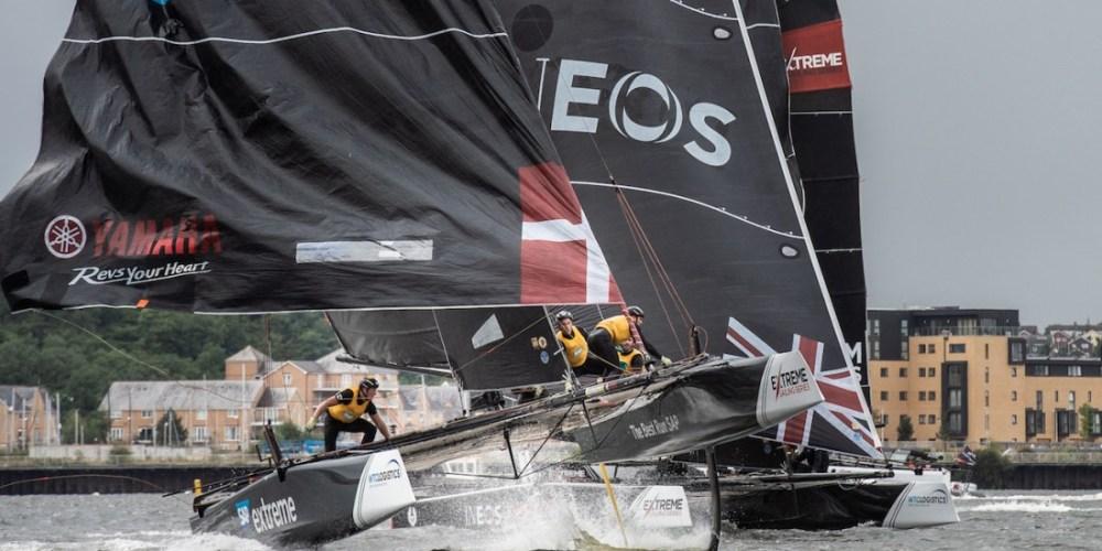 Extreme Sailing Series en Cardiff