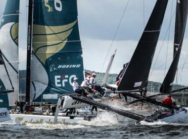 Extreme Sailing Series Cardiff, hoy para Alinghi