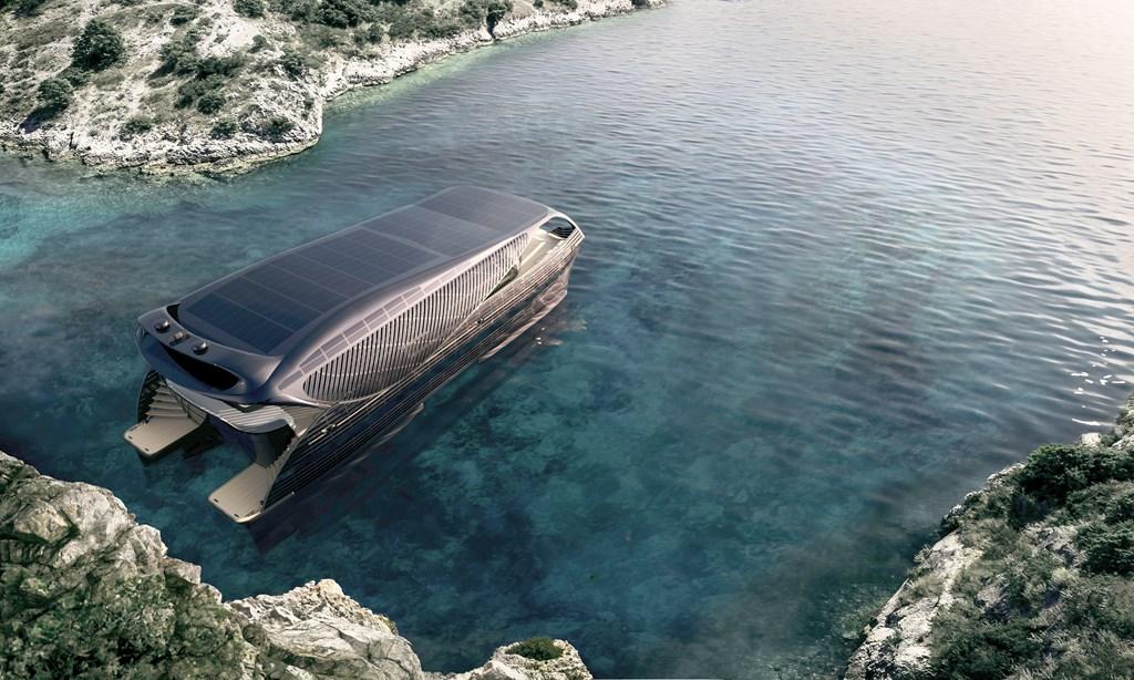 Solar Impact Yacht , el yate solar