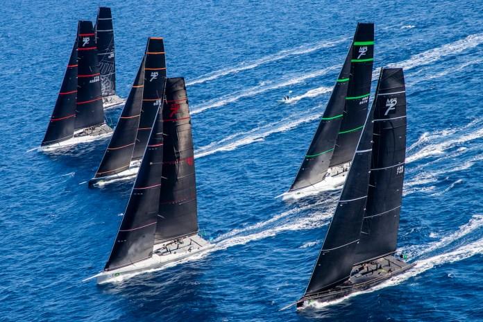 Comienzo de la Maxi Yacht Rolex Cup