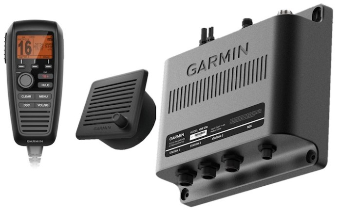 Garmn VHF con GPS integrados