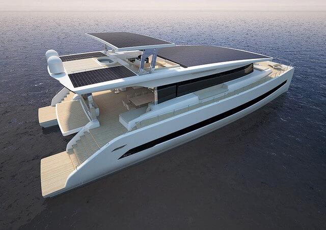 Silent 79. Catamarán solar.