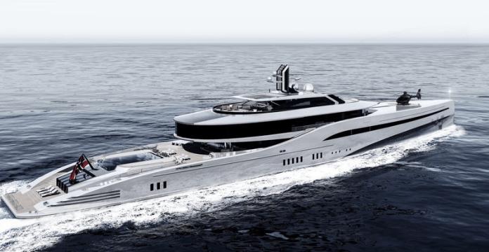 Concept Yacht noruego MESD 100