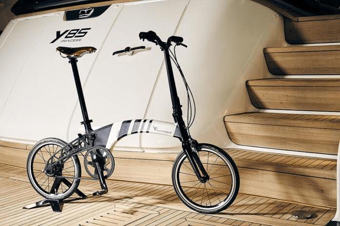 Hummingbird Bike presenta un modelo Princess Yachts