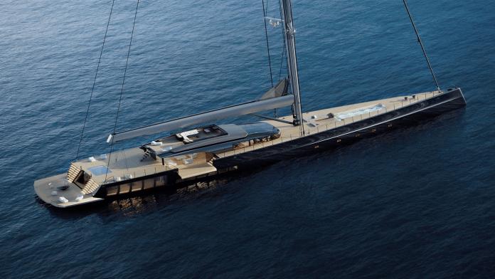 MM725, un yate de 72 metros y medio
