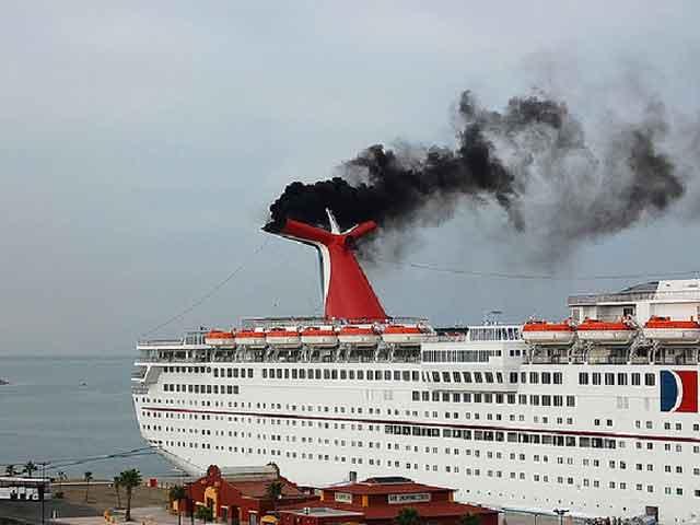 cruceros contaminan